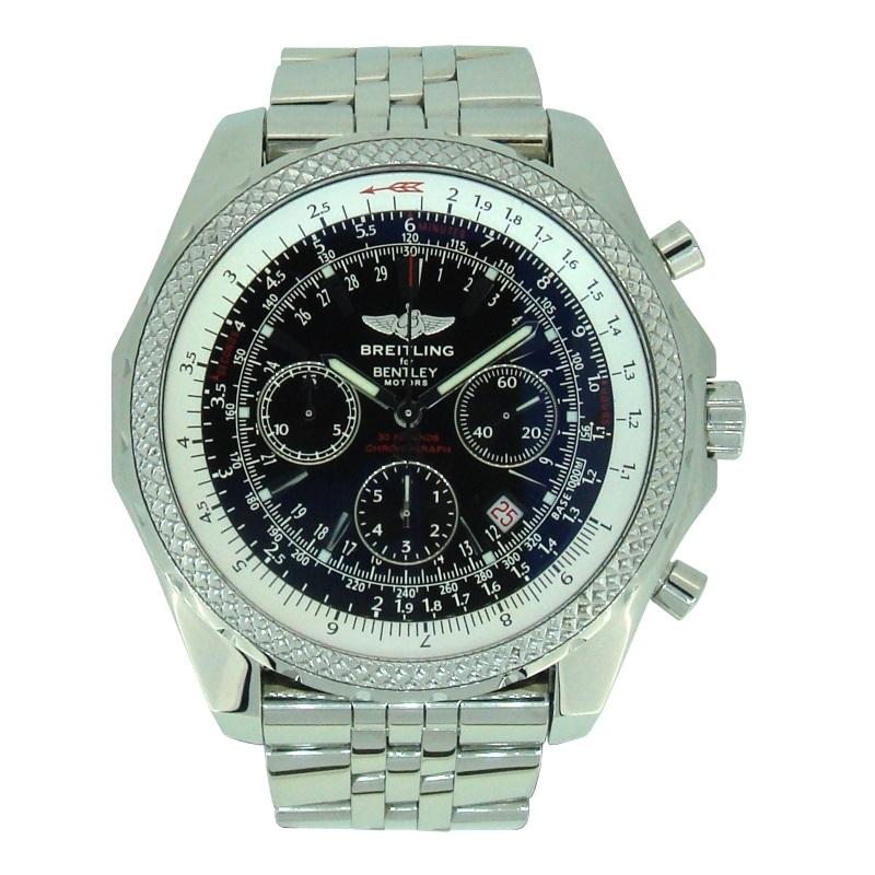 Описание часов: продажа мужских наручных часов #breitling breitling for bentley bentley motors t, #часы ref.
