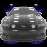 Mustang 2013 GT 5 Front V8