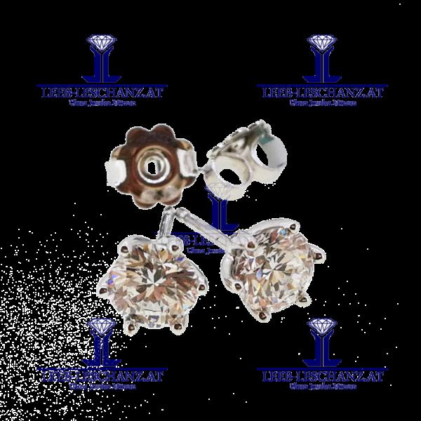 Ohrringe Diamant Brillant Morgengabe 313b