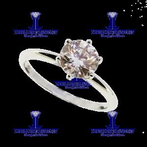 Solitarring Diamant Verlobungsring 300