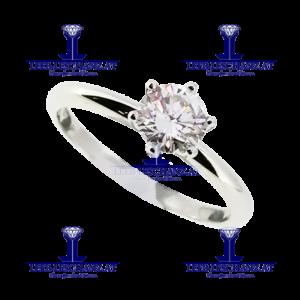 Solitarring Diamant Verlobungsring 303