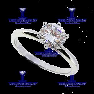 Solitarring Diamant Verlobungsring 304