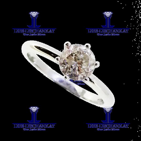 Solitarring Diamant Verlobungsring 305