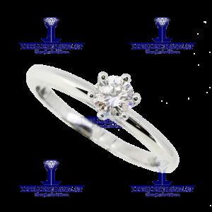 Solitarring Diamant Verlobungsring 306