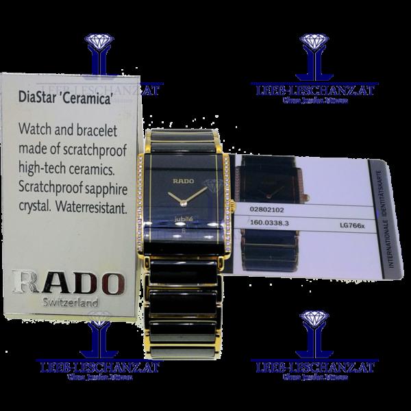 Rado Diastar jubile Diamant Ref. 160.0338.3