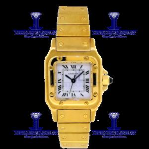 Cartier Santos Automatik 0358