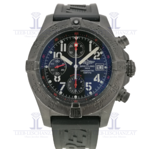 Breitling black limited front
