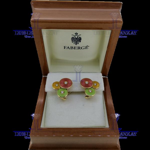 Ohrringe Faberge mit Brillanten limitiert