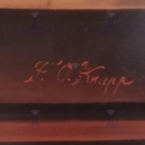 """Franz Oskar Knapp """"üppiges Stilleben"""""""