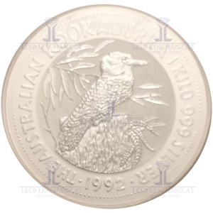 1 Kilo Silber Kokaburra Silbermünze