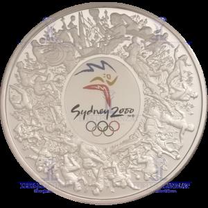 1Kilo Silber Sydney 2000 Feinsilber
