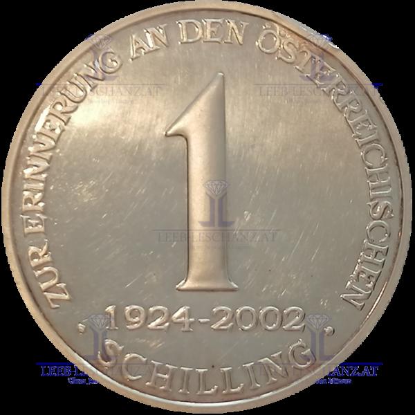 1 ATS Silberkilo 2002 227stück
