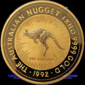 Australian Nugget 1992 1Kilo Goldmünze