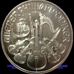 Philharmoniker 1 Unze Platin €uro