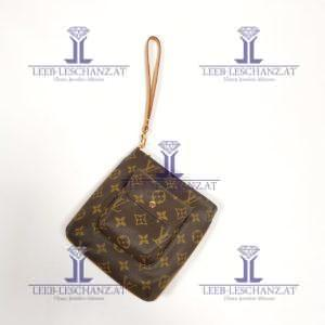 Louis Vuitton partition wristlet