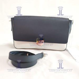 ESCADA Sport Shoulder Bag Blue/White