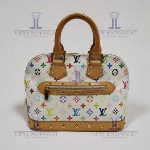 Louis Vuitton Multicollore Alma White