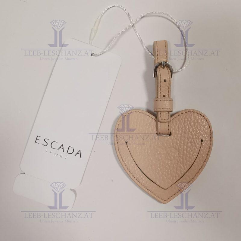 ESCADA Sport Taschenanhänger Herz Rosa