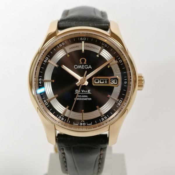 Omega DeVille Co‑Axial Annual Calendar 431.63.41.22.13.001 hour vision
