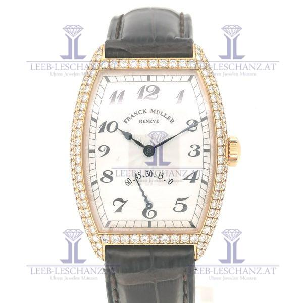 Franck Muller Jumping second Cintree Curvex Diamons