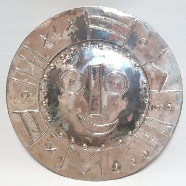 Pablo Picasso silver plate 1956