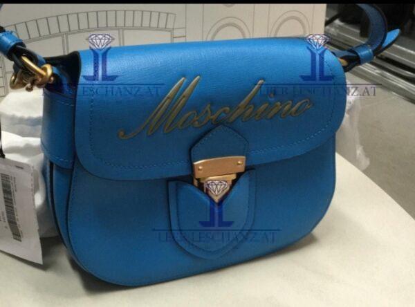 Moschino Couture blue crossbody