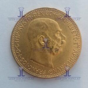 20 Kronen Gold 900/000 20 Corona