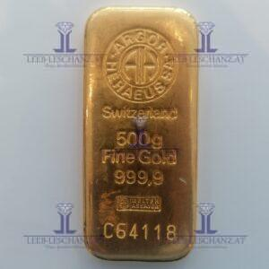 Feingold 1/2Kilo 500 Gramm