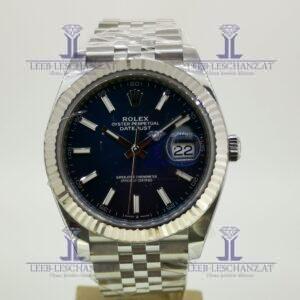 Rolex Datejust 41 blue dial